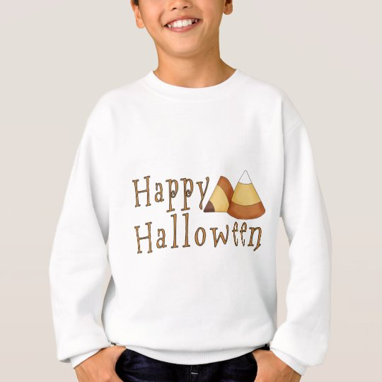 Happy Halloween Candy Corn Sweatshirt
