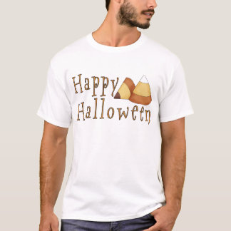 Happy Halloween Candy Corn T-Shirt