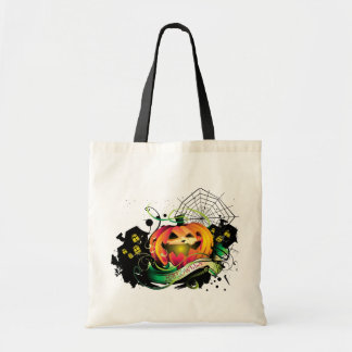 Happy Halloween Canvas Bags