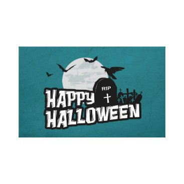 Halloween Themed Happy Halloween Canvas Print