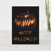 Happy Halloween Card card