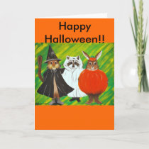 Happy Halloween Card