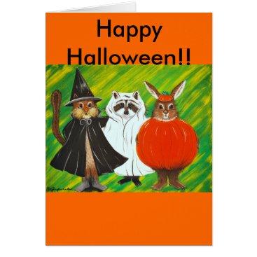 halloween Happy Halloween Card