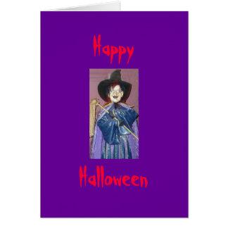 Happy, Halloween Card