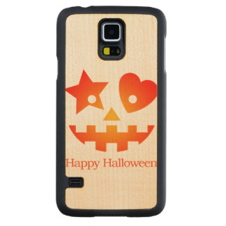 Happy Halloween Carved® Maple Galaxy S5 Case