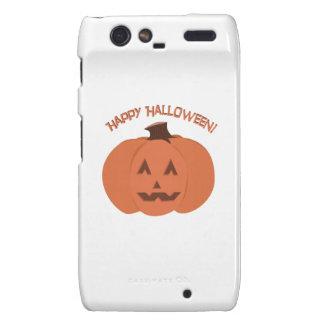Happy Halloween Motorola Droid RAZR Covers