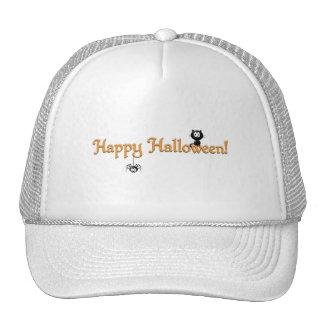 Happy Halloween-Cat and Spider Mesh Hats