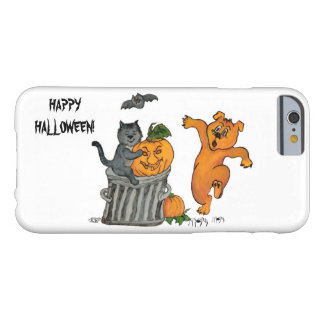 Happy Halloween! Cat Bat Dog and Spider Barely There iPhone 6 Case