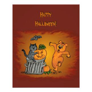 Happy Halloween! Cat Bat Dog and Spider Flyer