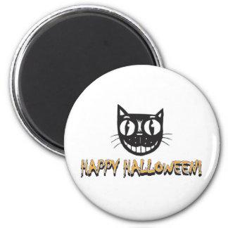 Happy Halloween Cat Magnet