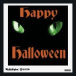"Happy Halloween Cats Eyes Wall Sticker<br><div class=""desc"">Happy Halloween Cats Eyes</div>"