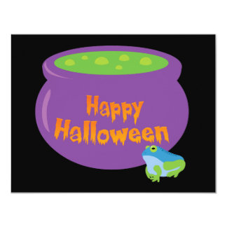 Happy Halloween Cauldron Card