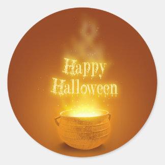 Happy Halloween Cauldron - Sticker