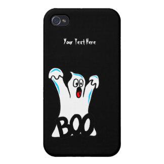 Happy Halloween – Caution, Beware of Ghost! iPhone 4/4S Case