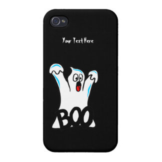 Happy Halloween – Caution, Beware of Ghost! iPhone 4/4S Cover