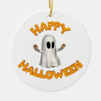 Happy Halloween - Ceramic Ornament