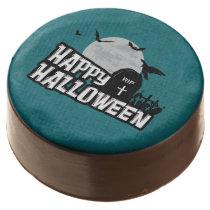 Happy Halloween Chocolate Covered Oreo