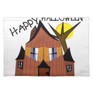 Happy Halloween Cloth Placemat