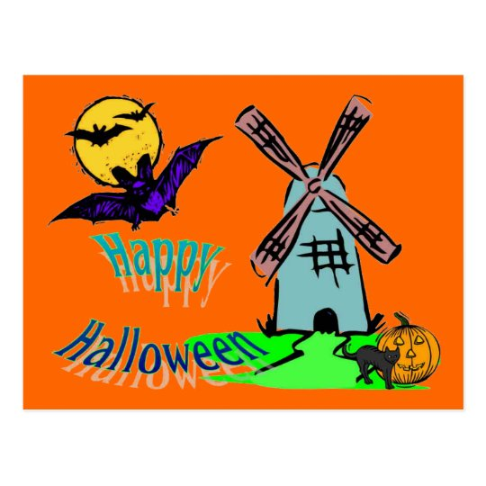 Happy Halloween Collection # 1 Postcard