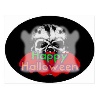 Happy Halloween Combo Postcard