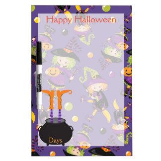 Happy Halloween Countdown Dry-Erase Board