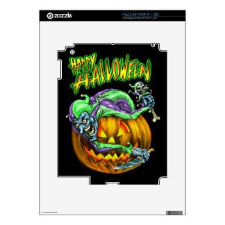 Happy Halloween Creepy JesterKin Skin For The iPad 2