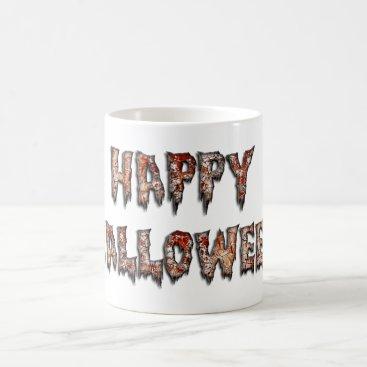 USA Themed Happy Halloween Creepy Novelty Coffee Mug