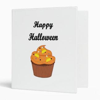 Happy Halloween Cupcake 3 Ring Binder