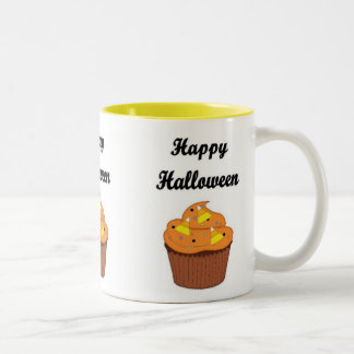 Happy Halloween Cupcake Coffee Mugs