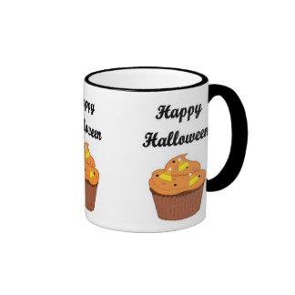 Happy Halloween Cupcake Ringer Mug