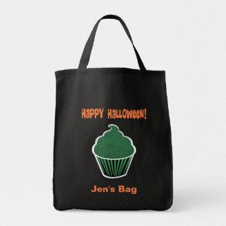 Happy Halloween Cupcake Tote Bag