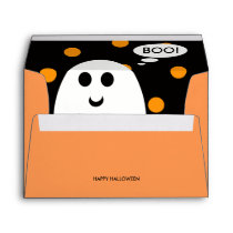 Happy Halloween Custom Envelope