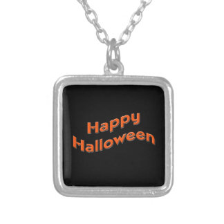 Happy Halloween Custom Necklace
