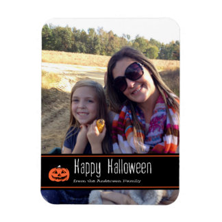 Happy Halloween Customizable Photo Magnet