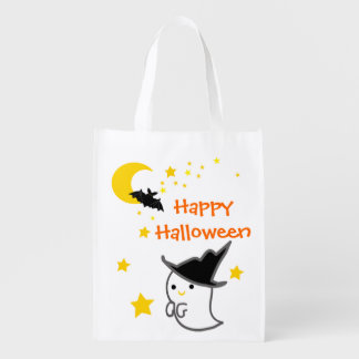 Happy Halloween Customizable Trick or Treat Bag Market Tote