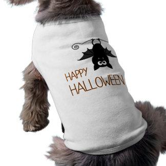 Happy Halloween Cute Bat Doggie Tee