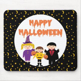 Happy Halloween Cute Trick or Treat Kids Mousepads