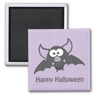 Happy Halloween. Cute Vampire Bat Fridge Magnets