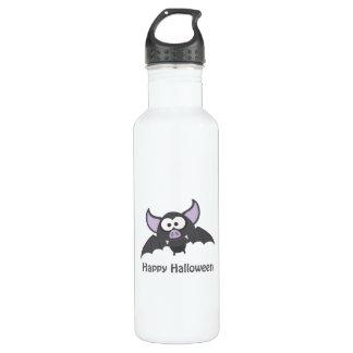Happy Halloween. Cute Vampire Bat Stainless Steel Water Bottle