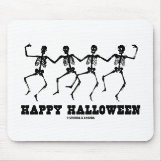 Happy Halloween Dancing Skeletons Mousepad