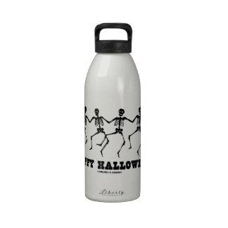 Happy Halloween Dancing Skeletons Drinking Bottle