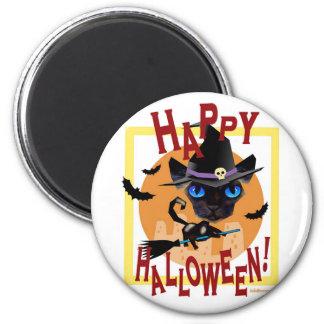 Happy Halloween Day Celebration - Multi 2 Inch Round Magnet
