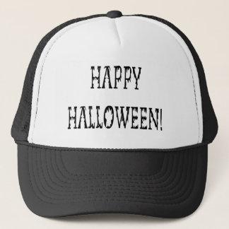 Happy Halloween Deadworld Text Trucker Hat