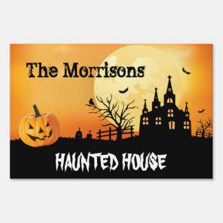 Happy Halloween Decor Welcome to My Haunted House Sign