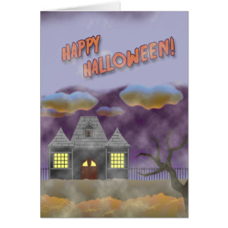 Happy Halloween- design 1 Greeting Card