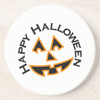 Happy Halloween Drink Coasters