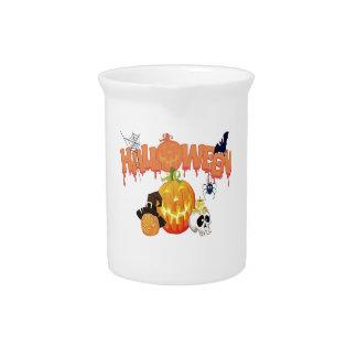 Happy Halloween Drink Pitcher