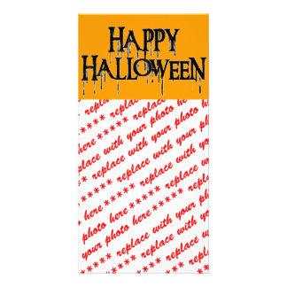 Happy Halloween Drippy Text Image Card