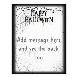 Happy Halloween Drippy Text Image Flyer