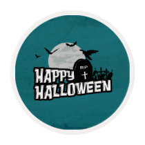 Happy Halloween Edible Frosting Rounds